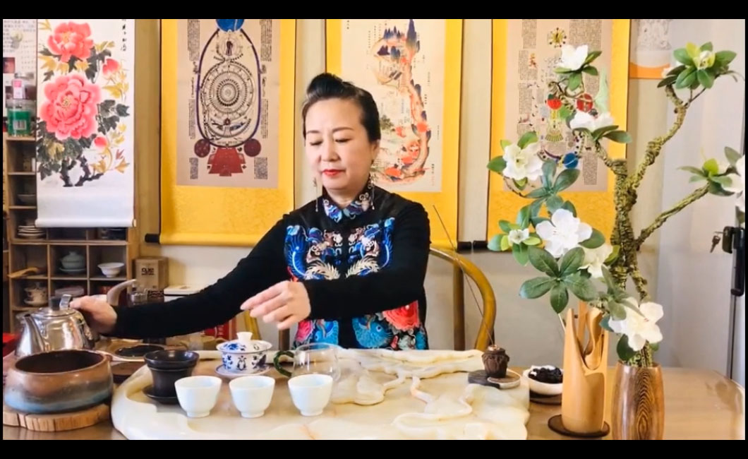 健康茶茶艺表演